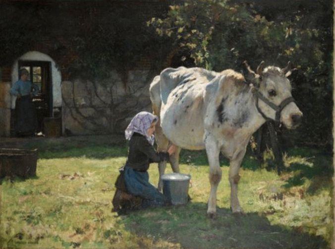 julien-dupre.-la-vache-blanche-v.-1890-